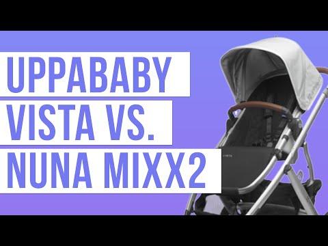 UPPAbaby Vista Stroller 2018 vs Nuna Mixx2 | Stroller Comparison