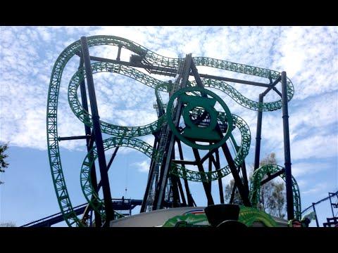 The Great Coaster Roadtrip Day 13 Six Flags Magic Mountain Coaster Vl