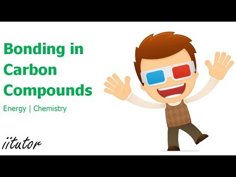 √ Bonding in carbon compounds | Energy | iitutor