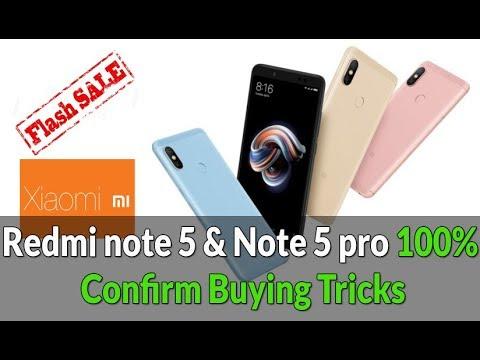 Redmi Note 5 & Note 5 Pro Confirm Buying Tricks | Auto Buy Redmi Note 5 Pro