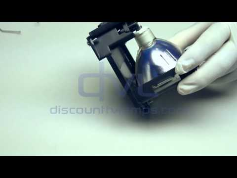Hitachi DT00665  Projector Lamp Replacement Video Guide