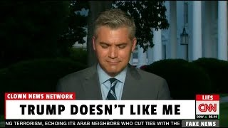 CNN Reporter Whines About Being Seated in Back Row at Trump Press Conference 😂