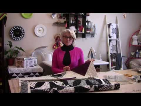 How to Hang your Quilt with 3 Hand Stitches