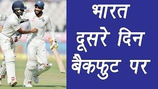 India vs Australia 4th test match : 2nd day highlights, hosts score 248 runs