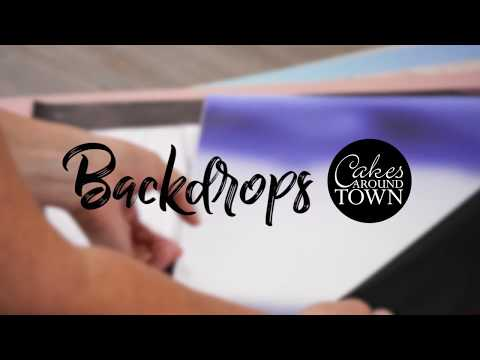 Photobackdrops to Showcase your Cakes & Creations