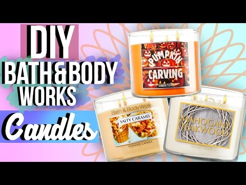 DIY Bath and Body Works Candles (Fall Edition) | JENerationDIY