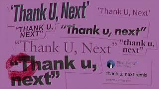 Ariana Grande  Thank U Next Stash Konig Remixaudio