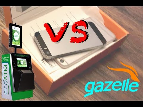 Ecoatm vs Gazelle  (Which gives you more Money for your old iPhones ?)