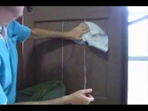 Wooden Door - Fixing Cracked & Broken Panels - Easy, Low Cost