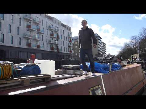 Living on a boat..  in central London
