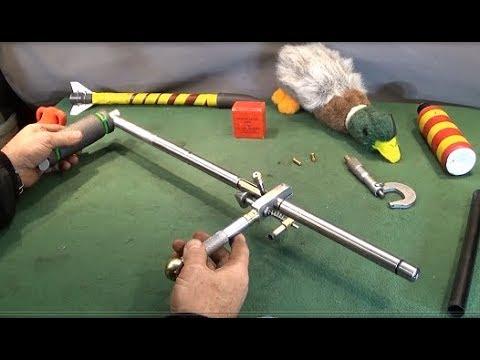 Home Made Stainless .22 Gun Dog Training Dummy & Rocket Launcher