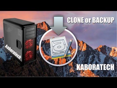 How to Clone or Backup Mac Os Sierra