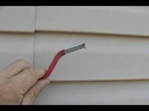 Removing Vinyl Siding
