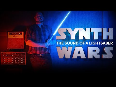Re-creating the Lightsaber Sound