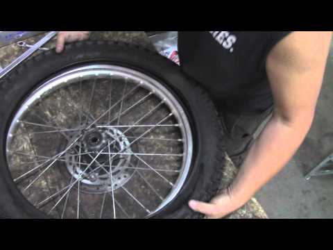 How To Change a Dirt Bike Tire