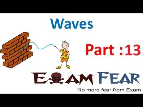 Physics Waves part 13 (Speed of transverse , longitudional waves) CBSE class 11