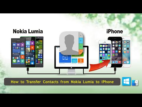 How to Transfer Contacts from Nokia Lumia to iPhone, Sync Microsoft Lumia Contact with iPhone