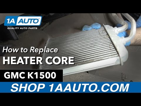How to Replace Install Heater Core 91-98 GMC Sierra