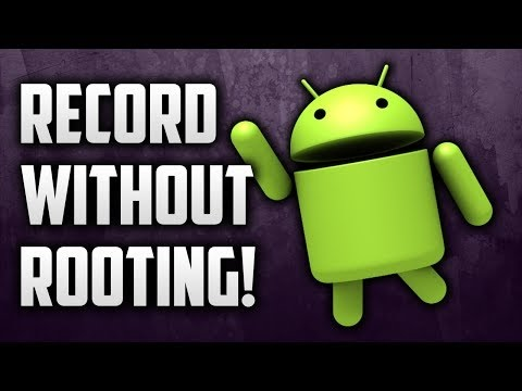 how to record android screen without root