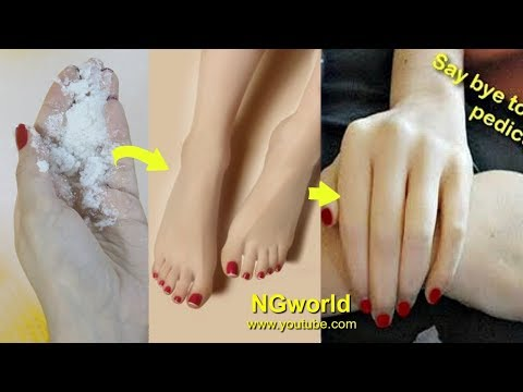 In Just 3 DAYS get WRINKLE FREE WHITE Soft HANDS and FEET Naturally at Home, IT WORKS ll NGworld
