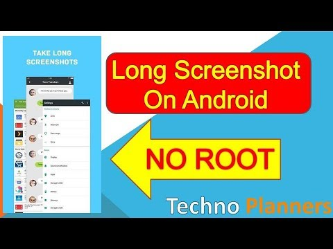 How to take Long Screenshot on Android - NO ROOT | Scrolling Screenshot