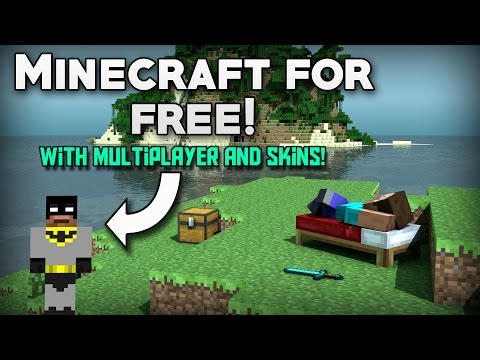 How To Get MINECRAFT For FREE with MULTIPLAYER AND SKINS! (Updated) (PC) (2017)
