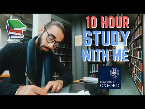 STUDY WITH ME @ UNI | 10 HOUR STUDY DAY IN OXFORD LIBRARIES