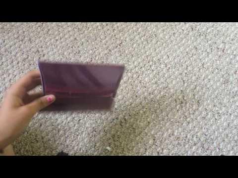 Poise sample liner unboxing