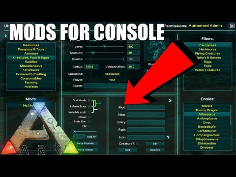 Will Ark Console get mods like Fallout 4 and Skyrim? - HUGE NEWS! - Ark: Survival Evolved