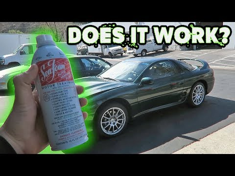 DID SEAFOAM RUIN THE 3000GT VR-4?