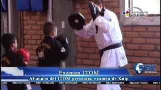 Examen Kiup Del Instituto Olímpico De Tae Kwon Do De México, Zacapoaxtla