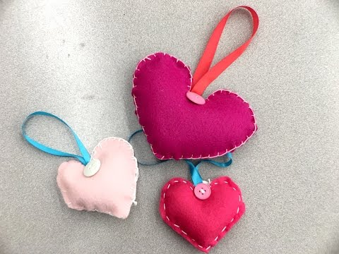 Crankin' Out Crafts -ep511 Valentine Felted Heart