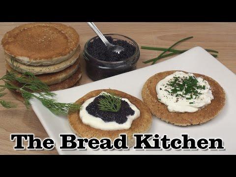 Buckwheat Blinis Recipe in The Bread Kitchen