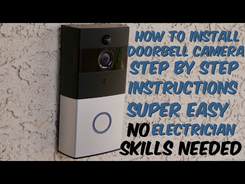 How To Install A Smart Doorbell Camera | Step By Step Instructions For AKASO or Ring Video Doorbell