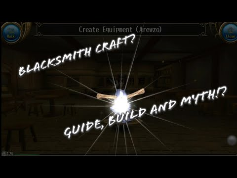 Blacksmith Craft Stats(Str, Int, Vit, Dex, Agi) Guide, Build and Myth! - Toram Online
