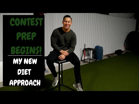 CONTEST PREP HAS BEGUN! | MY NEW DIET APPROACH | THE COMPETITOR V2