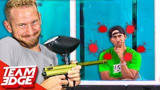 Paintball Pictionary Challenge!!