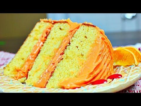Amazing Orange Cake Recipe - Rich and Moist Orange Cake