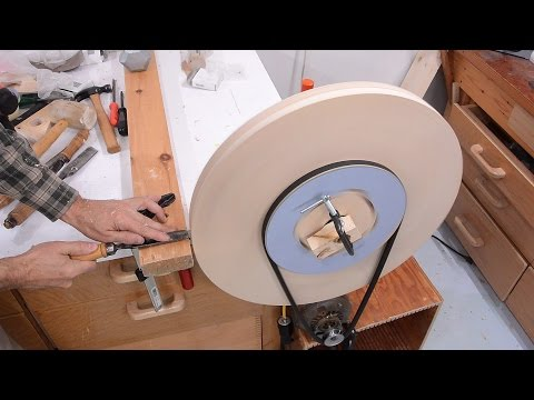 Big bandsaw build 1: The wheels