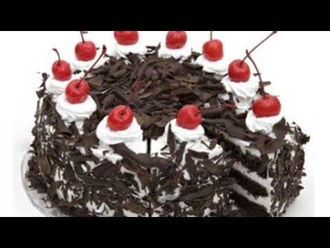 Black Forest Cake (No Oven||No Beater) in Fry Pan-Malayalam