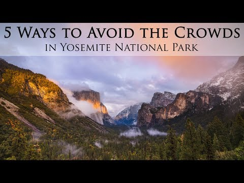 5 Ways to Avoid the Crowds in Yosemite National Park