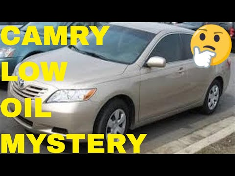 2007 toyota camry excessive engine oil consumption