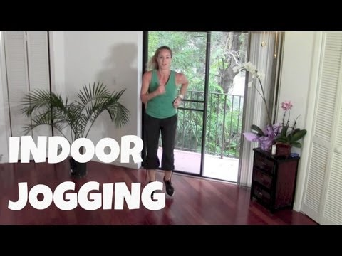 Walking Exercise - Indoor Jogging - Full 40 Minute Fat Burning Cardio Home Workout