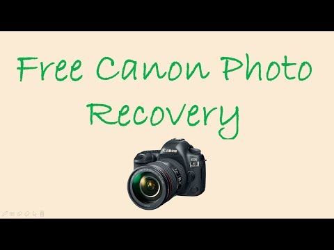 Free Canon Photo Recovery - How to Recover Deleted Pictures from Canon Camera