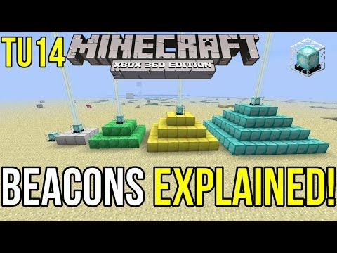 Minecraft Xbox 360: Beacons Explained! | Coming in TU14