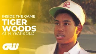 Tiger Woods Interview as Young  14-Year-Old | Golfing World