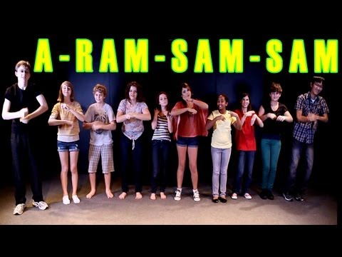 A Ram Sam Sam Dance - Children's Song - Kids Songs by The Learning Station