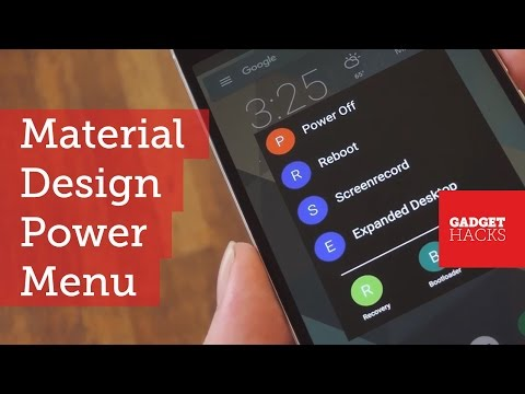 Completely Customize Android's Power Menu with Material Design [How-To]