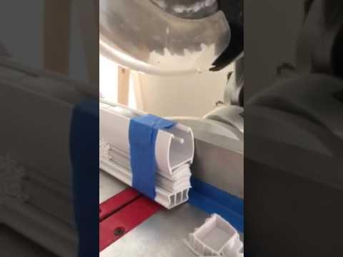 Cutting mini blinds to width