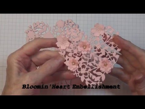 Bloomin' Heart Embellishment